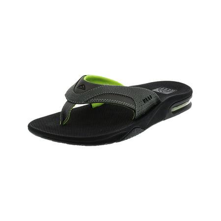 new product 584f7 d2ee9 Reef Men's Fanning Brown / Gum Low Top Rubber Sandal - 10M