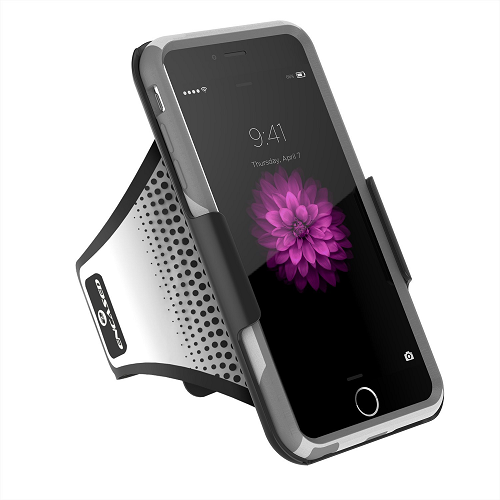 Workout Armband for Otterbox Commuter - iPhone 6 PLUS 5.5 [Case not included] (Encased Lifetime Warranty)
