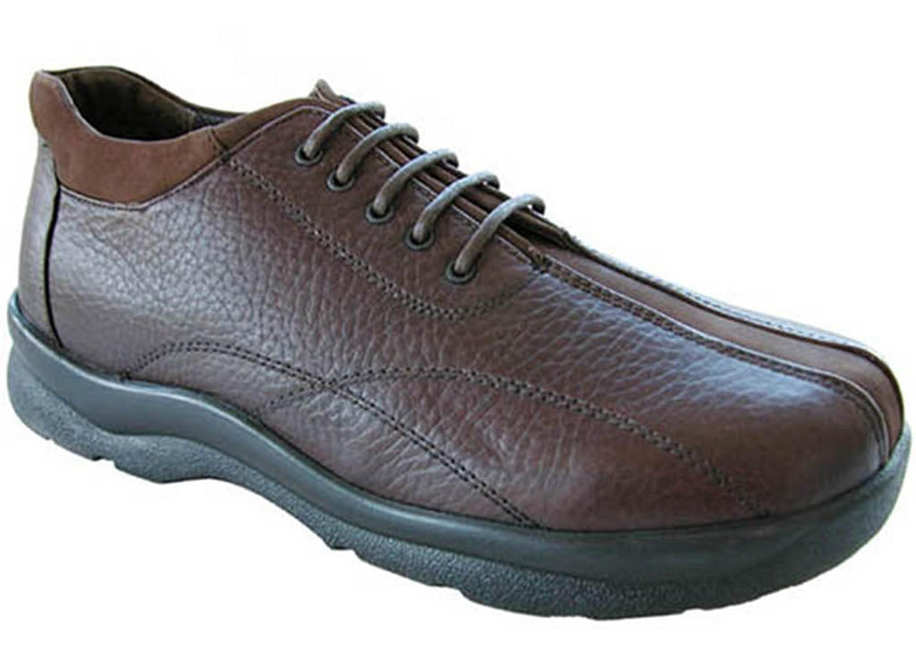 Aetrex Men's Brown Y710 Casual Walking Shoe by Aetrex