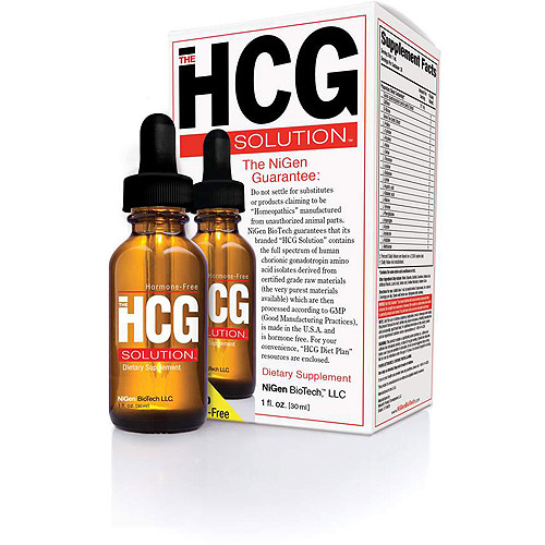 The HCG Solution Dietary Supplement, 1 oz