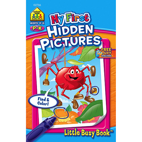 My First Little Busy Book Hidden Pictures Grades P-K
