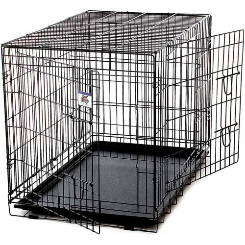 Miller Manufacturing Pet Crate, Extra Large, Black