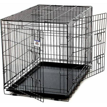 Miller Manufacturing Pet Crate Extra Large Black