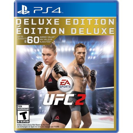 UFC 2: Deluxe Edition [EA Sports] (Ea Sports Controller With Two Tv Games)
