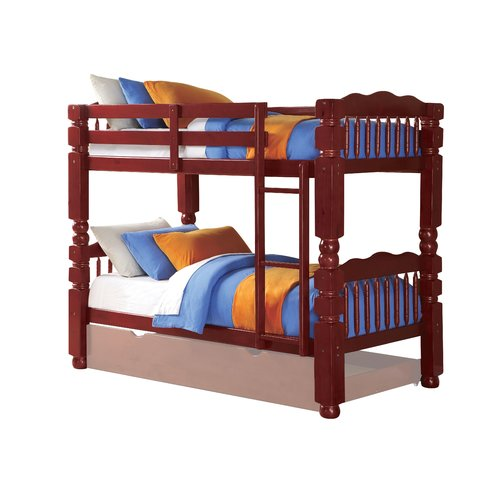 Harriet Bee Rayna Twin Bunk Bed with Drawers