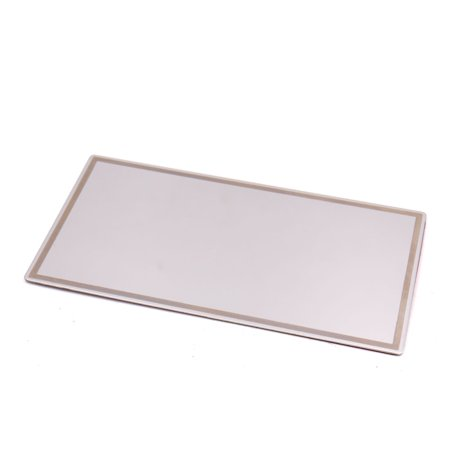 Car Stainless Steel Self Adhensive Sticker Anti Glare Vison Sun Visor HD Mirror