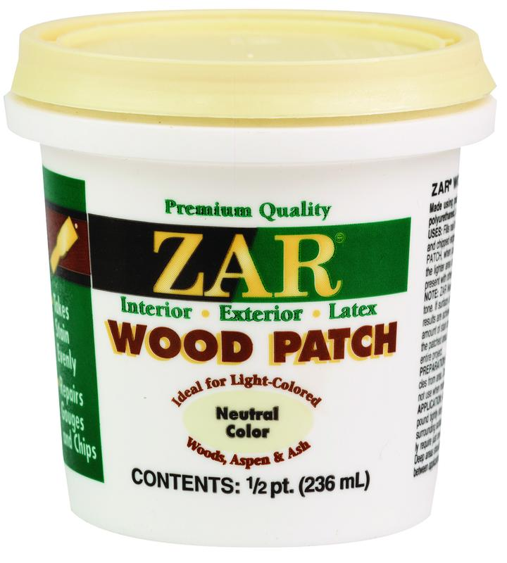 United Gilsonite ZAR Wood Patch, 1/2 pt Pail, Neutral