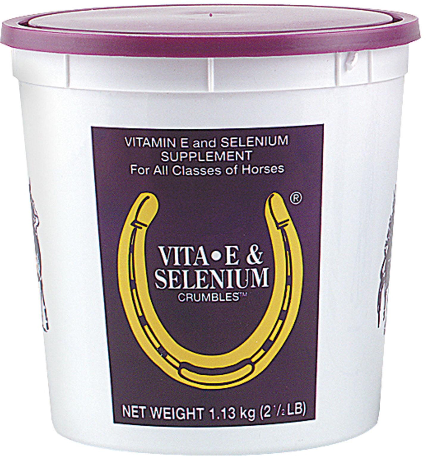 VITA E + SELENIUM CRUMBLES SUPPLEMENT FOR HORSES