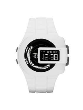 Diesel Men's DZ7275 Digital View finder White Silicone Watch