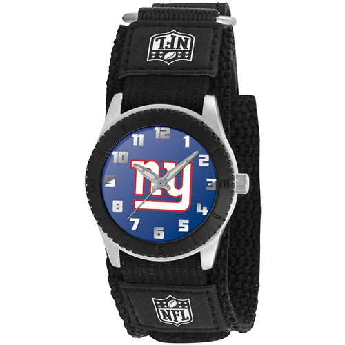 Game Time NFL Men's New York Giants Rookie Series Watch, Black