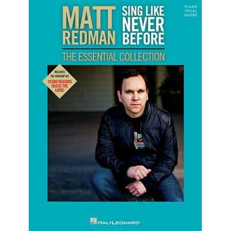 Matt Redman - Sing Like Never Before: The Essential Collection](Redman Halloween)