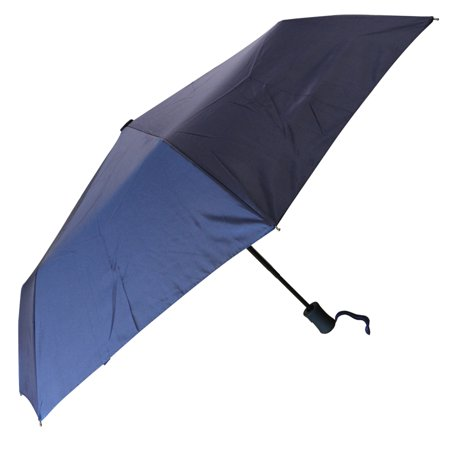 Compact Auto Open and Close One-Handed Outdoor Rain Umbrella - Durable, Lightweight, One Button Press to Open and Close ()