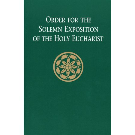 Order for the Solemn Exposition of the Holy Eucharist: People's