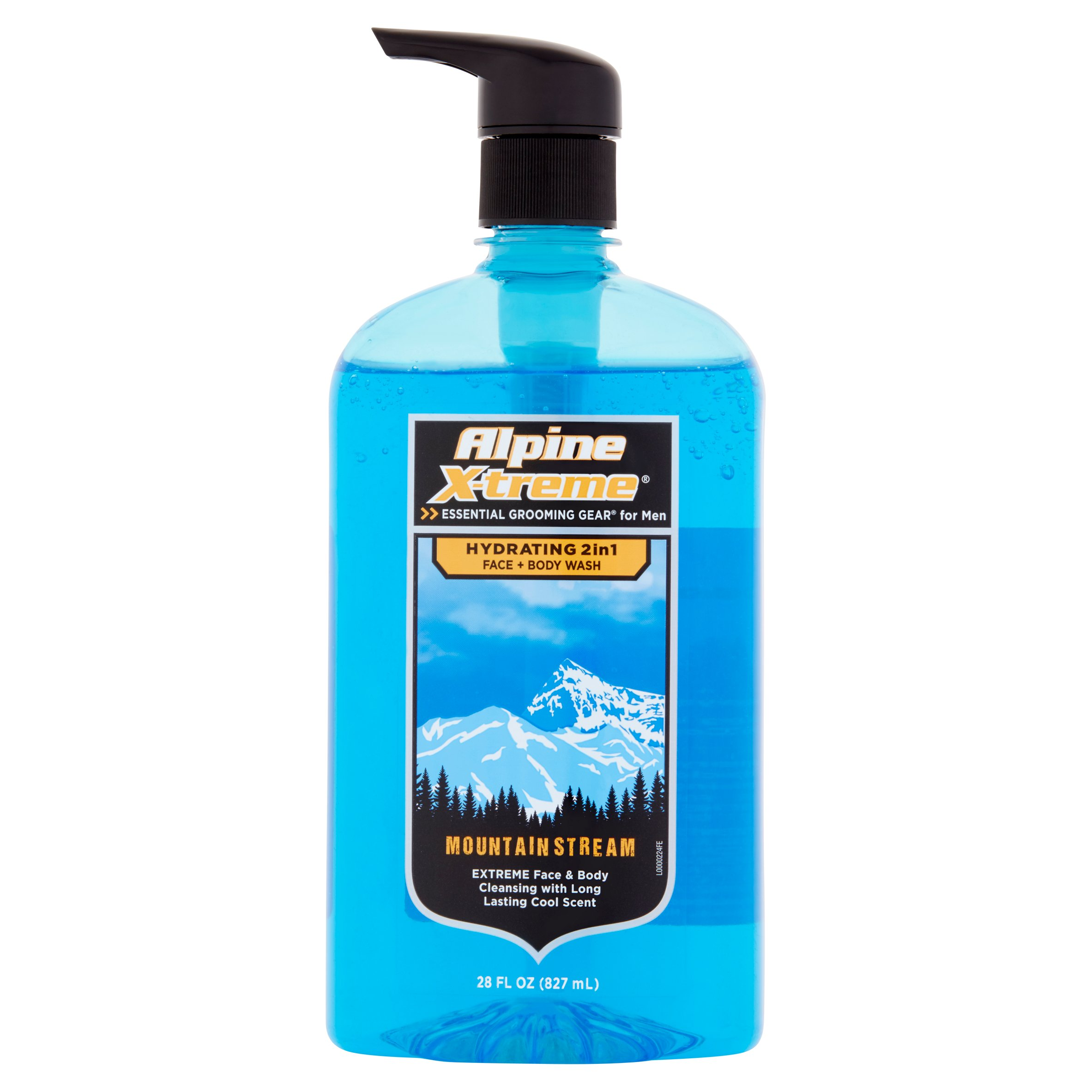 Alpine X-treme Mountain Stream Hydrating 2in1 Face + Body Wash, 28 fl oz