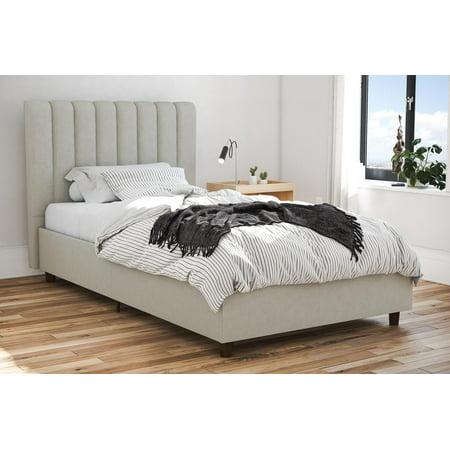 Novogratz Brittany Upholstered Bed, Multiple Sizes, Multiple Colors