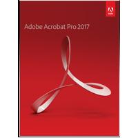 Adobe Acrobat Pro Edition 2017