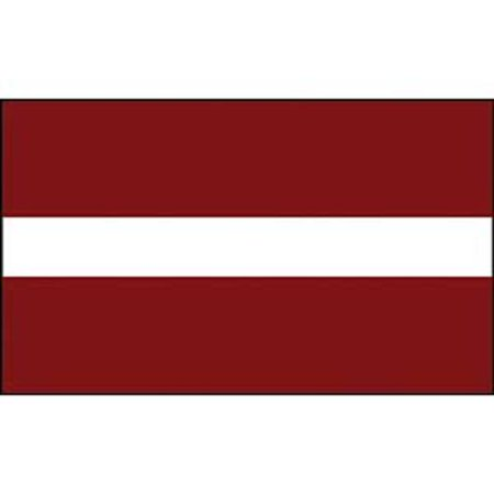 Latvia Flag On A Stick 12