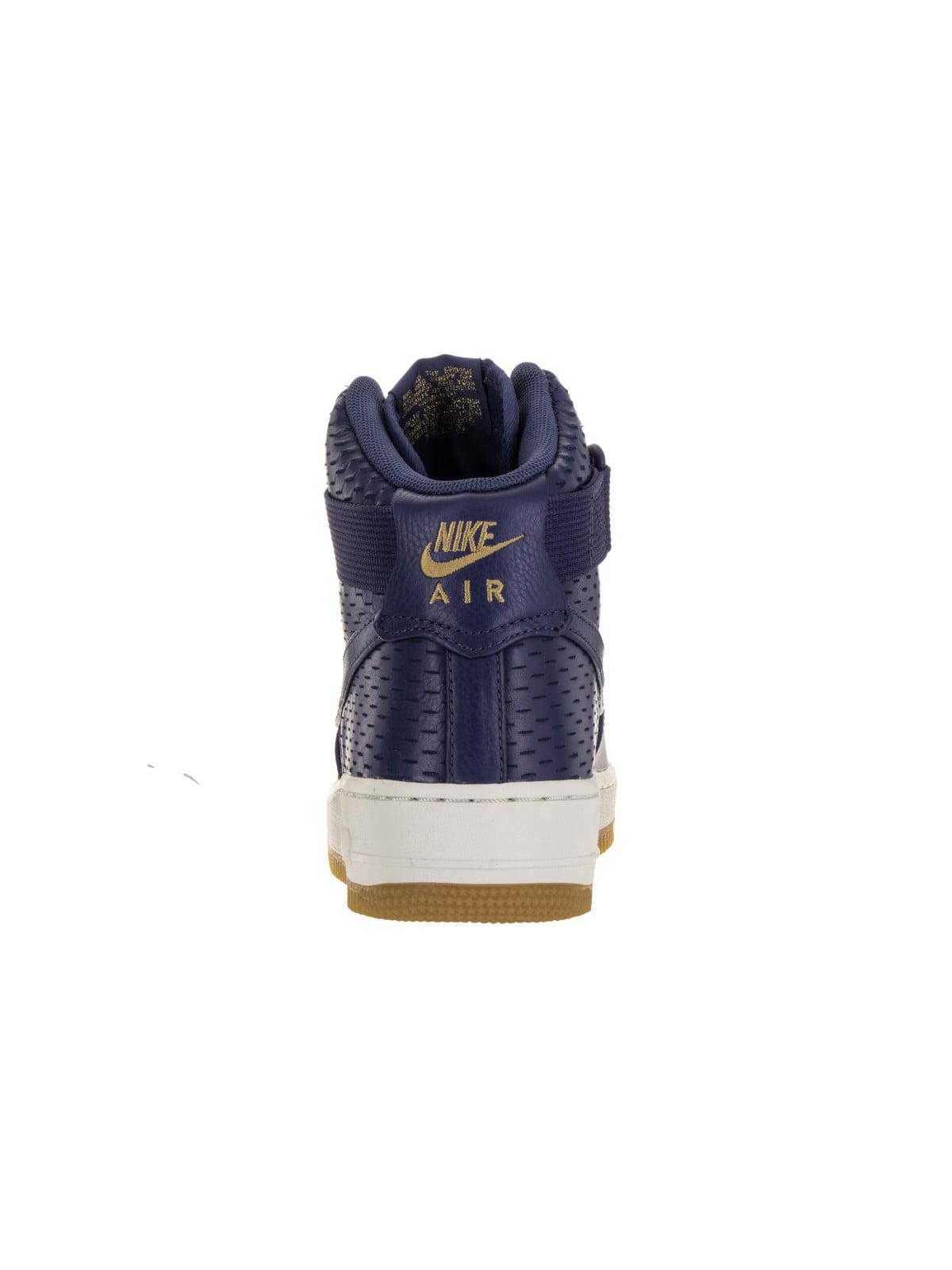 Nike 654440-501: Women's Air Force 1 Hi Prm Dk Purple Dust Basketball Shoe (Dk Purple Dust/Dk Purple Dust, 9.5 B(M) US)