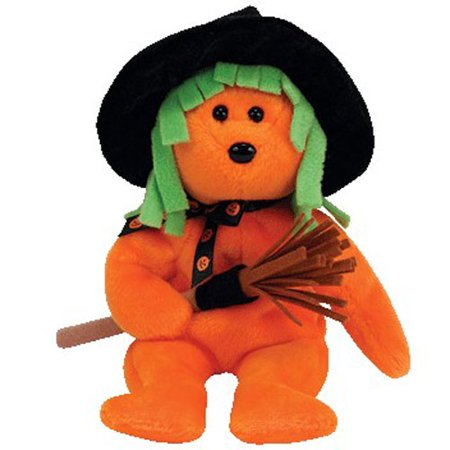 Halloween Toys For Babies (TY Beanie Baby - SPELLS the Halloween Bear (Internet Exclusive) (9)