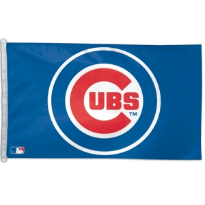 Chicago Cubs 3'x5' Flag by Wincraft, Inc.