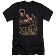 Xena Warrior Princess Royalty Mens Slim Fit Shirt