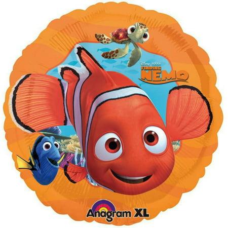 Nemo Birthday Theme (Finding Nemo Foil / Mylar Balloons 18