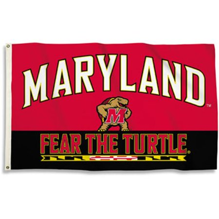 Bsi Products 95246 Maryland Terrapins - 3 x 5 ft. Flag With (Maryland Terrapins Store)