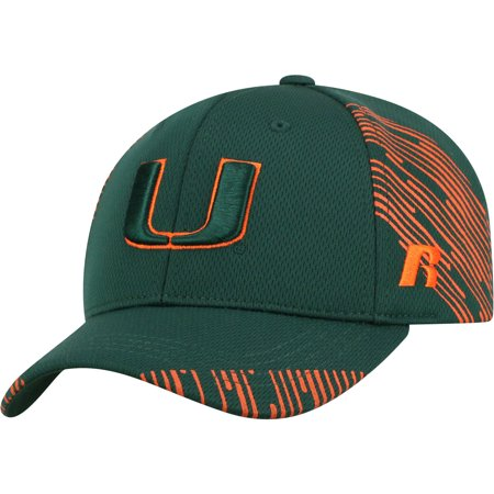 - Youth Russell Green Miami Hurricanes Uptempo Adjustable Hat - OSFA