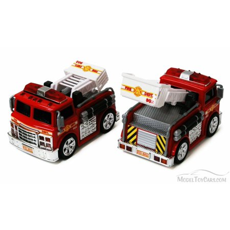 Chubby Champs Fire Engine, Red - 88002 - Collectible Model Toy Car (Brand New, but NOT IN -
