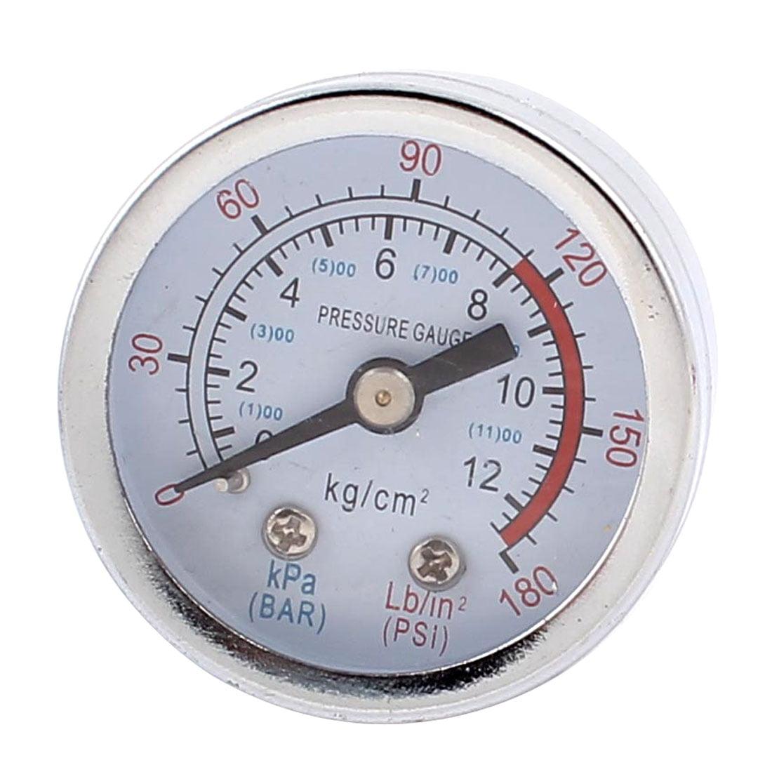 180 psi 0 1200kpa round dial air pressure dial gauge walmart com