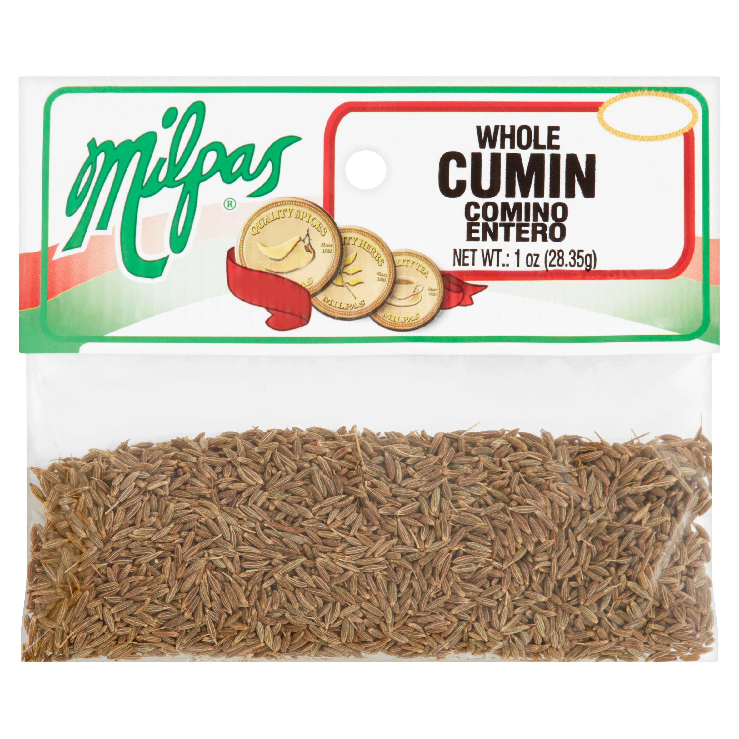 (5 Pack) Milpas Whole Cumin, 1 oz