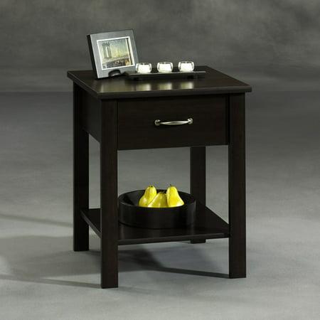 mainstays park lane side table cinnamon. Black Bedroom Furniture Sets. Home Design Ideas