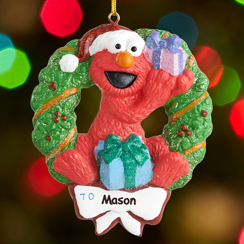 Personalized Elmo Christmas Ornament - Walmart.com