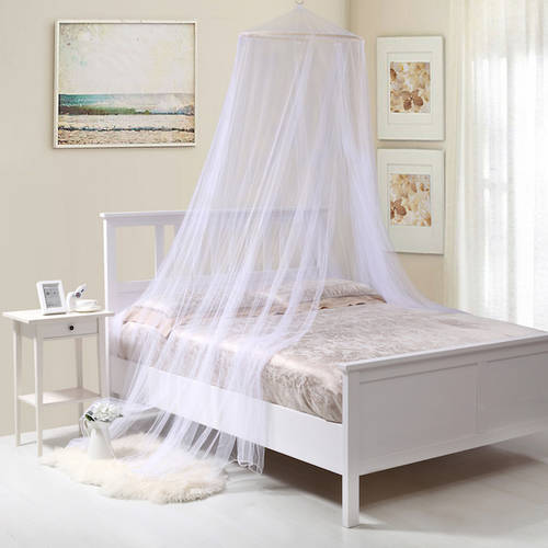 Oasis Round Hoop Sheer Bed Canopy - Walmart.com & Inspiring Bed Canopy Pictures - Best inspiration home design ...