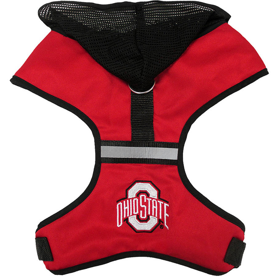 Pets First College Ohio State Buckeyes Pet Harness, 3 Sizes Available