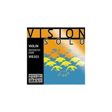 Thomastik Vision Solo 4/4 Size Violin Strings 4/4 Size Silver D String (Pi Violin Strings)