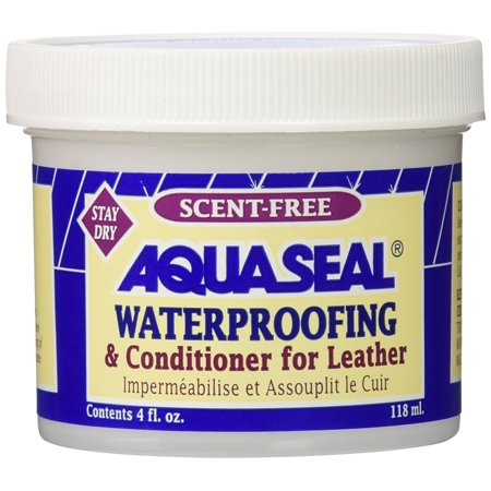Aquaseal Leather Waterproof Cream, Leather Waterproofing: Formulated for waterproofing and conditioning the leather portions of lightweight hiking boots By AQUA