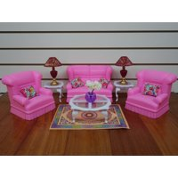 Gloria / My Fancy Life Living Room For Dolls & Dollhouse Furniture