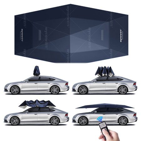 4.5M Automatic Car Roof Umbrella Tent Sun Shade Roof Cover ...