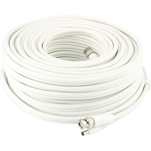 Swann SWADS-30MBNC BNC to BNC Video and Power Extension for CCTV Cameras, 100'
