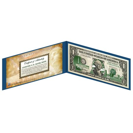 NEW JERSEY State $1 Bill *Genuine Legal Tender* U.S. One-Dollar Currency -
