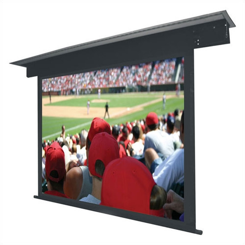 VUTEC Lectric II Matte Black Electric Projection Screen L...
