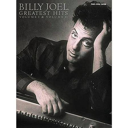 Hal Leonard Billy Joel  Greatest Hits Volume 1 & 2 Piano, Vocal, Guitar (Billy Joel Piano Man Piano Sheet Music)