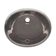 Whitehaus Collection WH920ABL-POSS Undermount Sink - Polished Stainless Steel