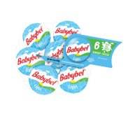 Mini Babybel Light Semisoft Cheese, 0.75oz 6 count