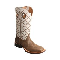 Men's Twisted X MRS0056 Ruff Stock Cowboy Boot