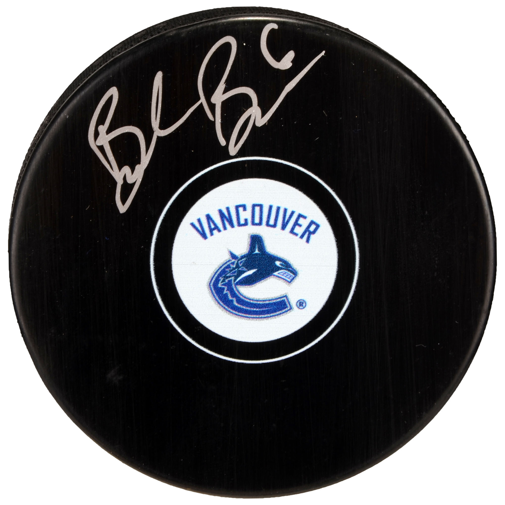 Brock Boeser Vancouver Canucks Fanatics Authentic Autographed Hockey Puck - No Size