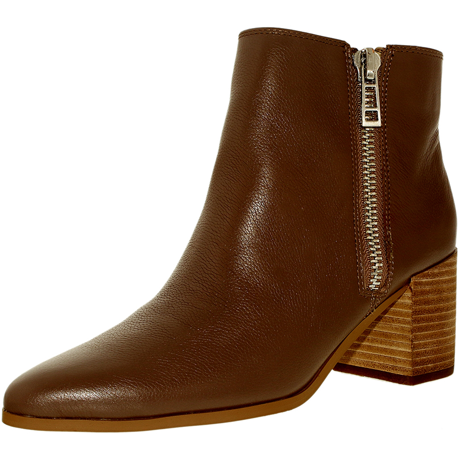 Charles By David Women's Uma Leather Dktaupe-Le Ankle-High Boot - 8.5M