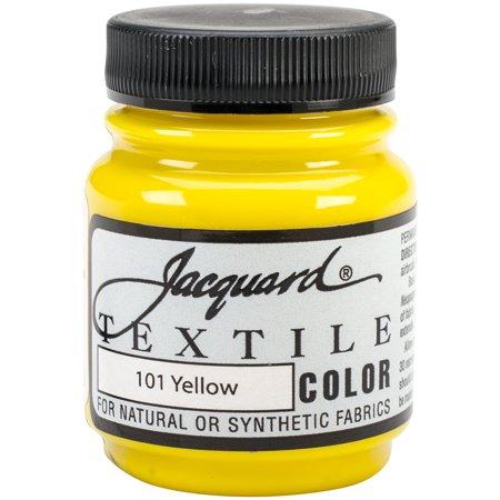 Jacquard Textile Color Fabric Paint 2.25oz-Yellow (Jacquard Fabric Paint)