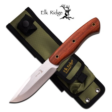 Fixed Blade Wood Handle